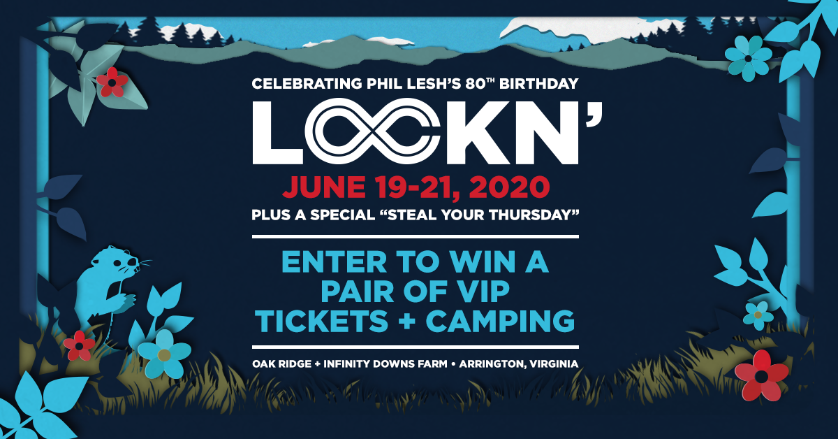 Enter to Win a Pair of VIP Tickets and Camping to LOCKN' 2020