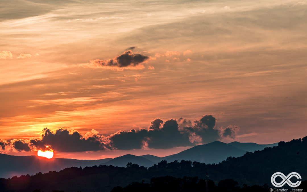 20 of the Most Stunning Sunset Photos from LOCKN'