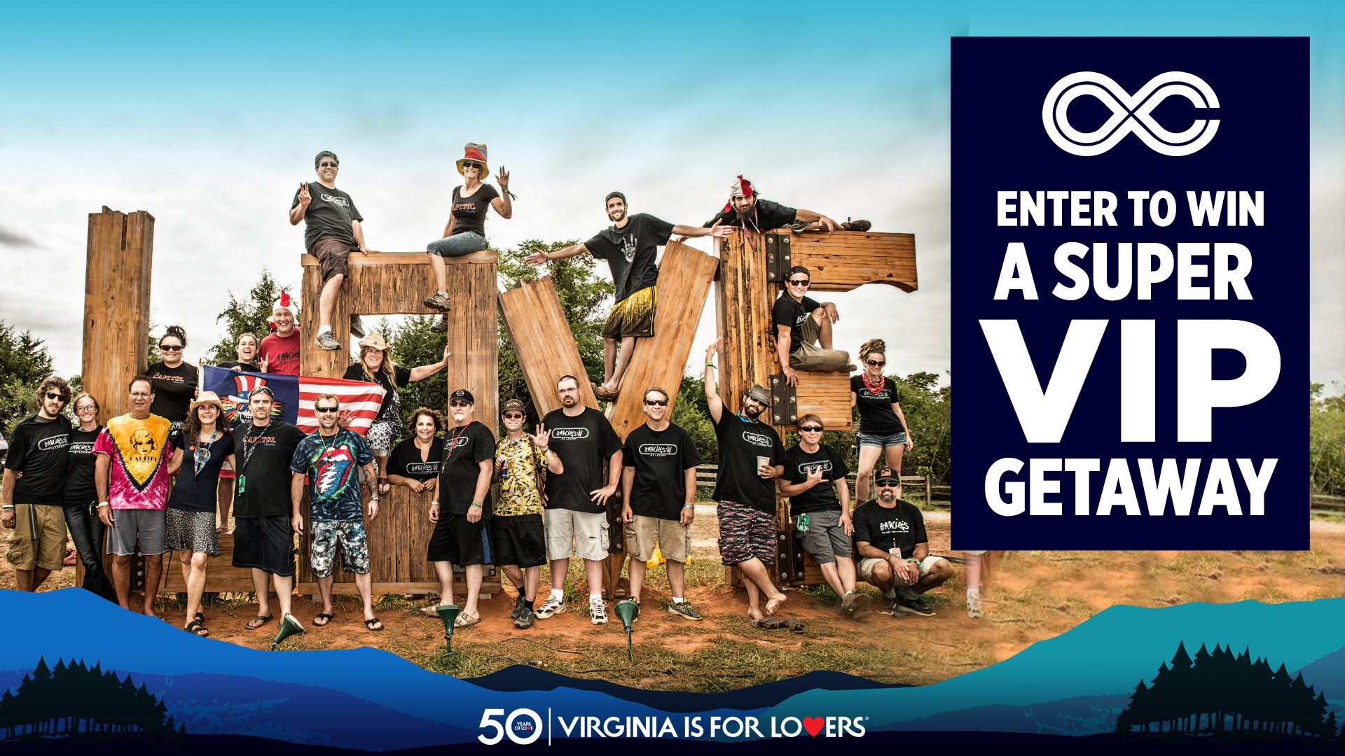 Win a Pair of SUPER VIP Passes with Car Camping to LOCKN'!