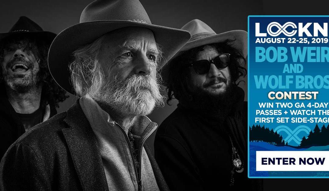 Bob Weir & Wolf Bros Are Giving Away Two 4-Day GA Passes to LOCKN' + Side Stage Viewing!