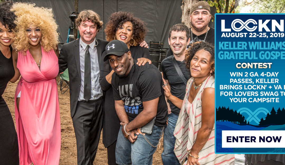 Keller Williams' Grateful Gospel's Giving Away Two 4-Day GA Passes, Have Keller Stop By Your Campsite + More to LOCKN'!