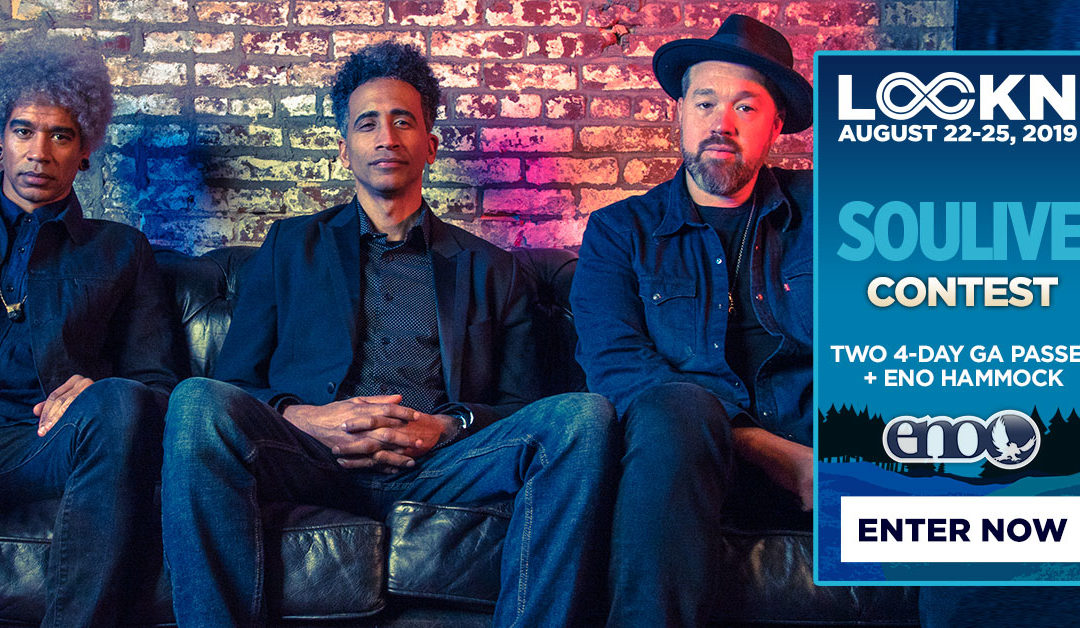 Soulive's Giving Away Two 4-Day GA Passes to LOCKN' + ENO Hammock!