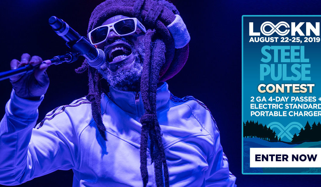 Steel Pulse's Giving Away Two 4-Day GA Passes to LOCKN' + Electric Standard Portable Charger