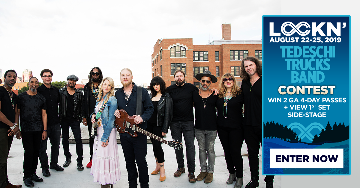 Tedeschi Trucks Band Is Giving Away Two 4-Day GA Passes to LOCKN' + Side Stage Viewing!