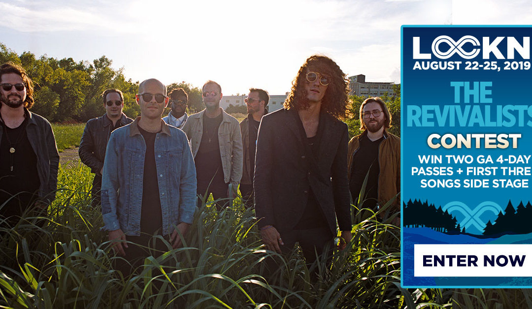 The Revivalists Are Giving Away Two 4-Day GA Passes to LOCKN' + Side Stage Viewing!
