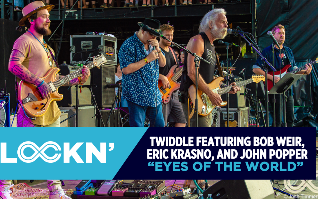 "Watch Twiddle Play ""Eyes of the World"" ft. Bob Weir, Eric Krasno, and John Popper"