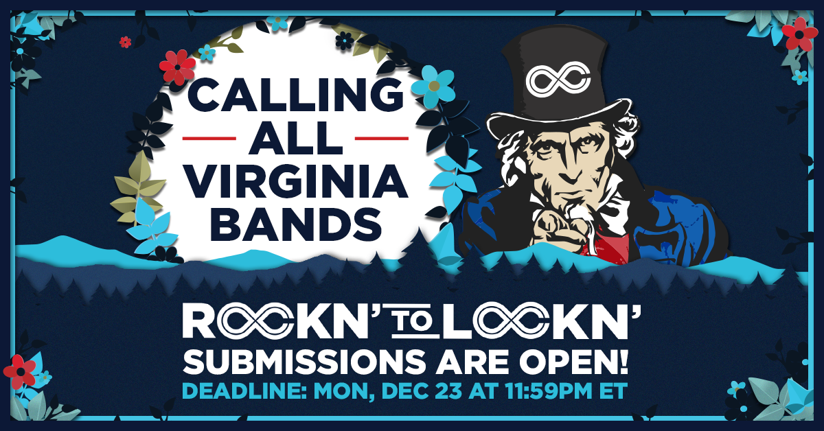 Announcing ROCKN' to LOCKN' 2020! Submit Your Virginia Band to Play at LOCKN' 8