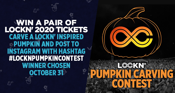 Carve a LOCKN' Inspired Pumpkin and Win a Pair of LOCKN' 2020 Tickets