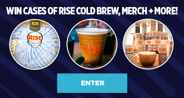 Enter to Win RISE Brewing Co. Coffee, Merch + More