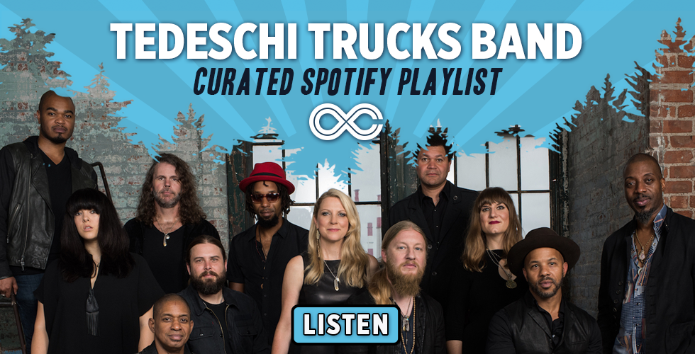 Listen to What Tedeschi Trucks Band is Listening to on the Bus