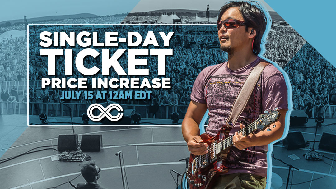 Grab Single-Day Tickets before prices go up this Friday!