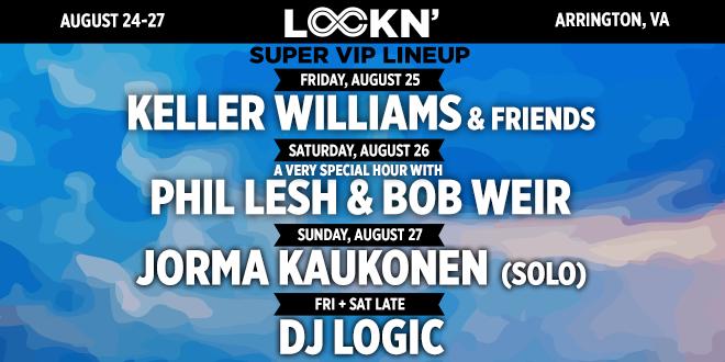 Super VIP Lineup for LOCKN' 2017 Announced!