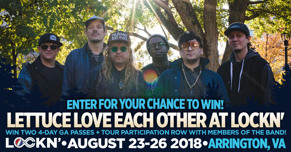 Win Two 4-Day GA Passes + Tour of Participation Row With Members of Lettuce!
