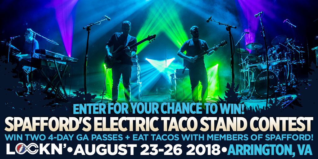 Win Two 4-Day GA Passes to LOCKN' Festival + Eat Tacos With Members of Spafford