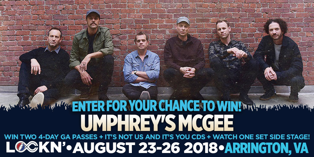 Win Two 4-Day GA Passes + It's Not Us and it's you CDs + Watch One Set Side Stage!
