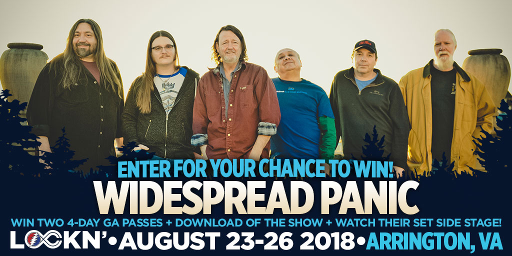 Win Two 4-Day GA Passes + LiveWidespreadPanic.com Download of The Show + Watch Their Set Side Stage!