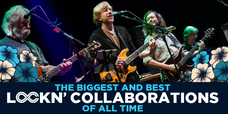 The Biggest and Best LOCKN' Collaborations of All Time