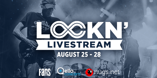 Livestream All 4 Days of LOCKN' 2016 for Free!