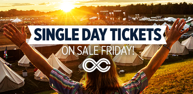 Single Day Tickets On Sale Friday!