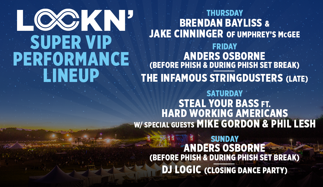 Super VIP Lineup Announced!