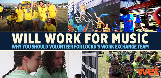 Will Work for Music : Why You Should Volunteer for LOCKN'