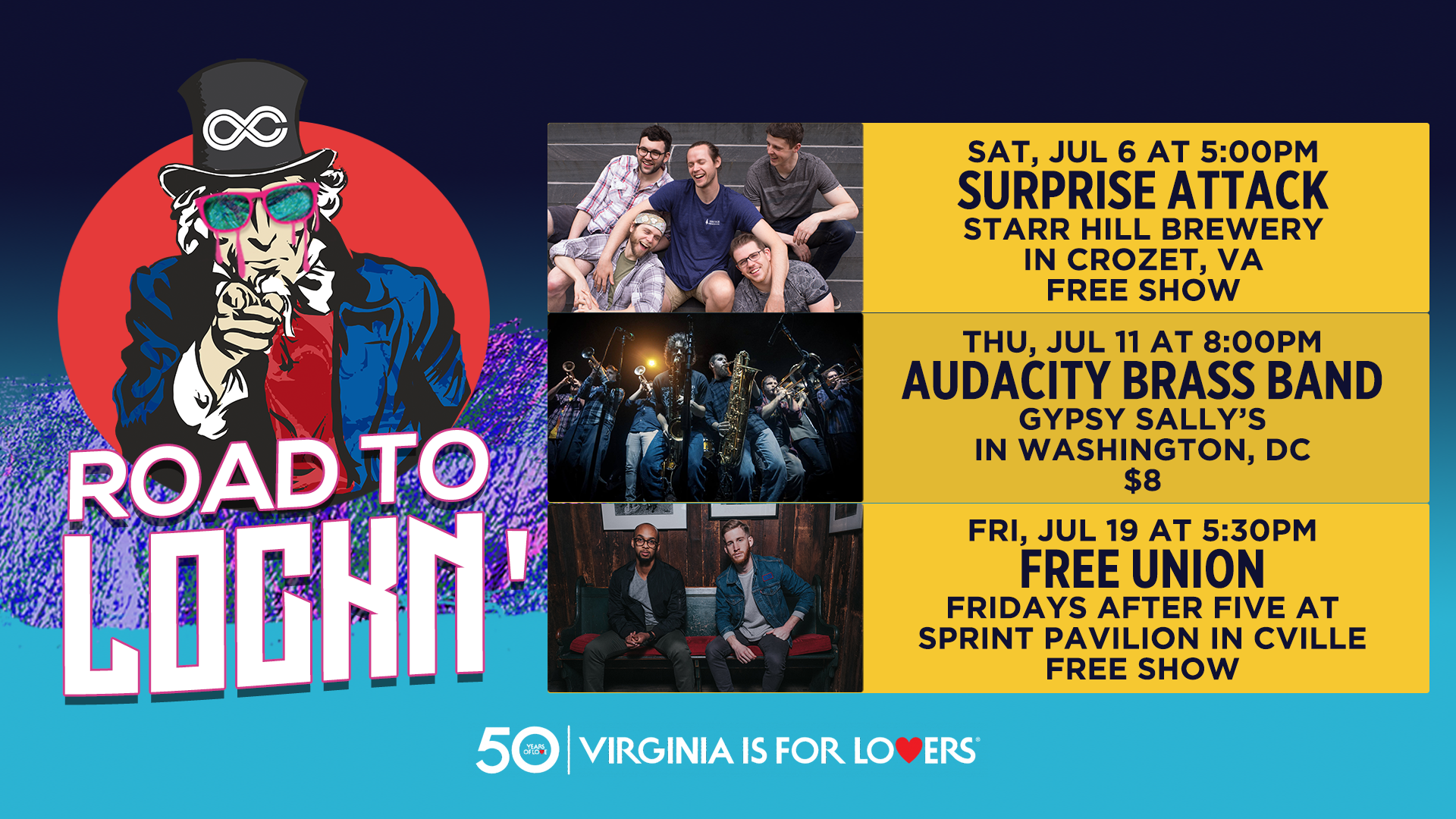 Announcing the Road to LOCKN' Concert Series