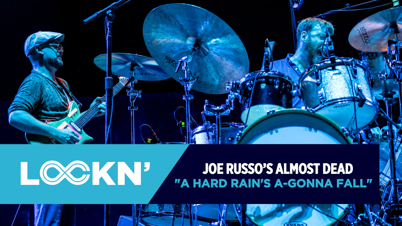 "Watch Joe Russo's Almost Dead Play ""A Hard Rain's A-Gonna Fall"""